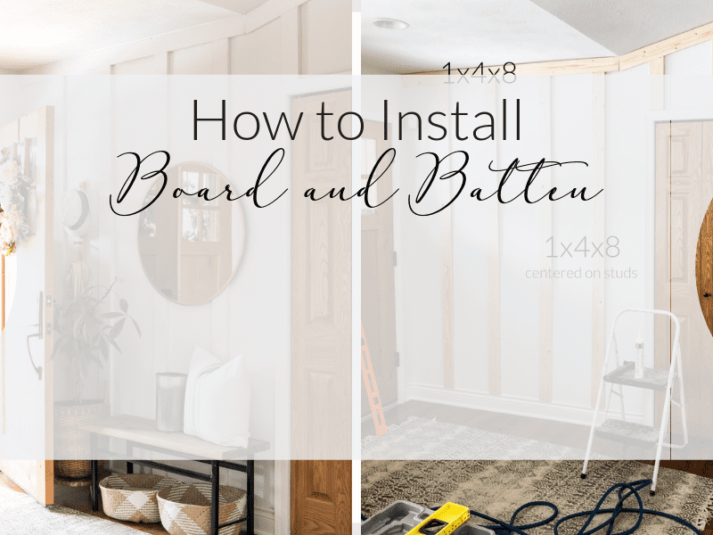 How to Install Board and Batten As an Accent Wall