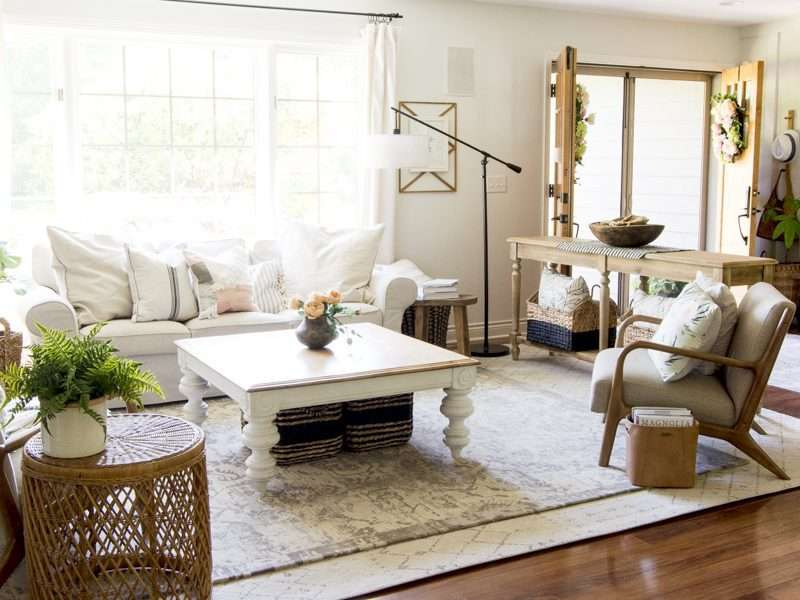 Simple Summer Decorations Home Tour