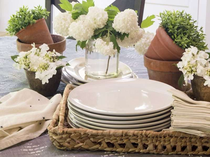 Garden Party Summer Tablescape