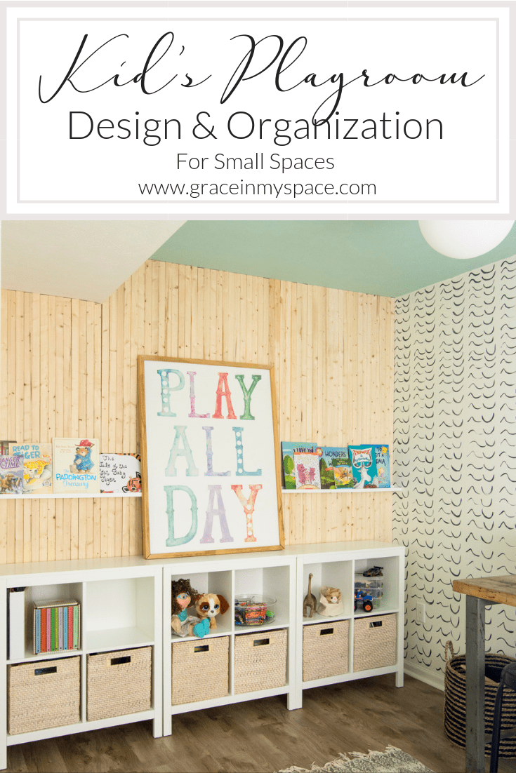 Have your children's toys and craft supplies taken over your home? Here are 3 ways to create a unique and fun kid's playroom with organization and purpose. #fromhousetohaven #playroomideas #kidsplayroom