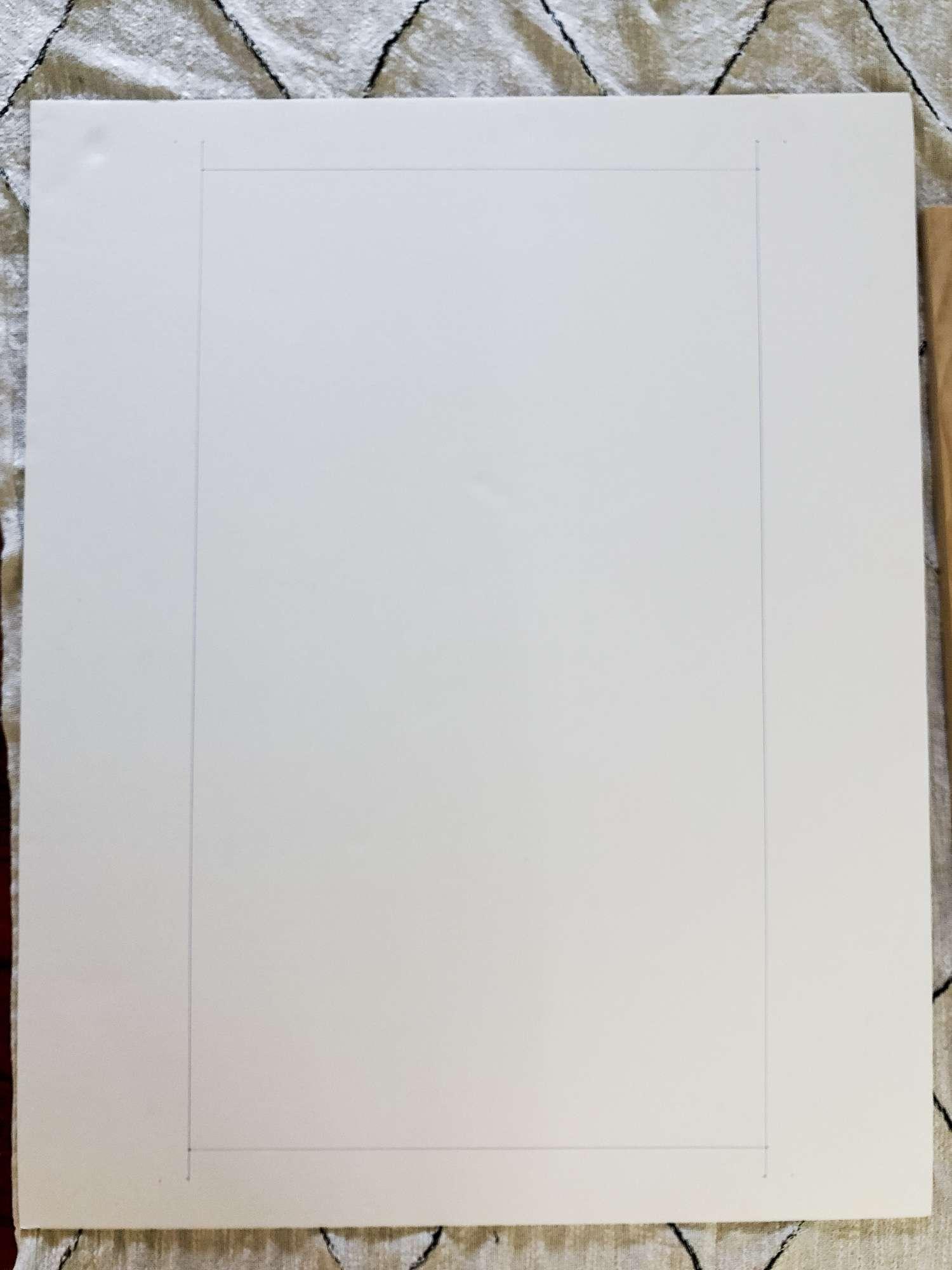 DIY frame mat