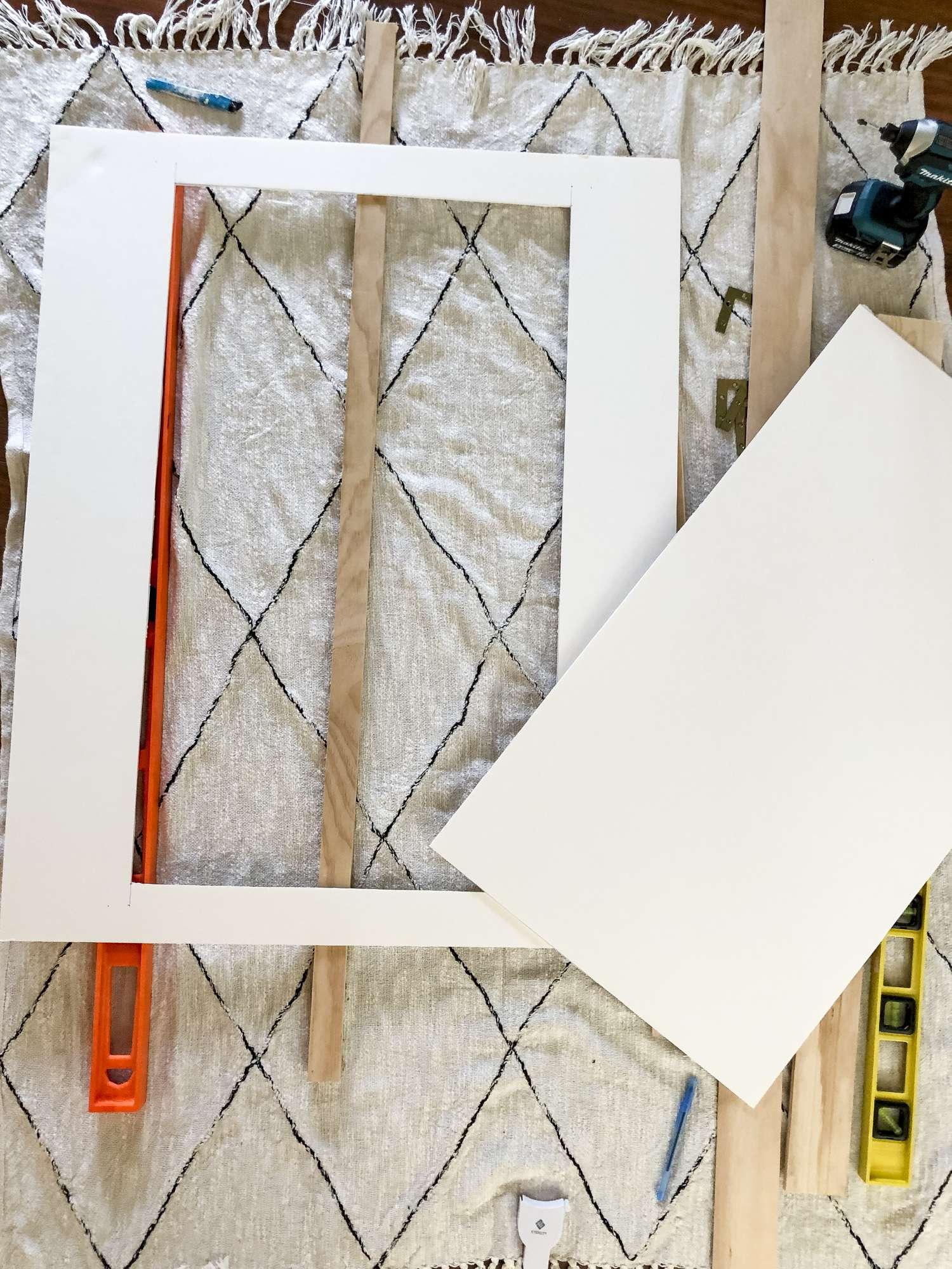 How to make a DIY frame mat
