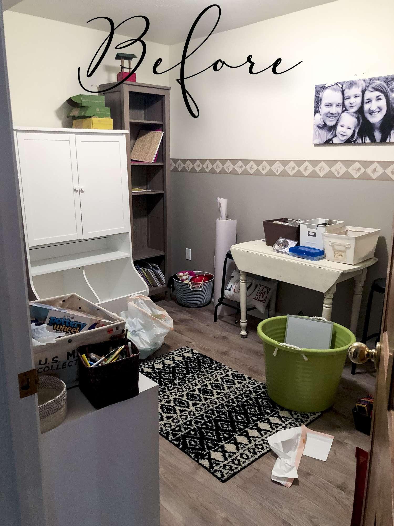 Kid's playroom before