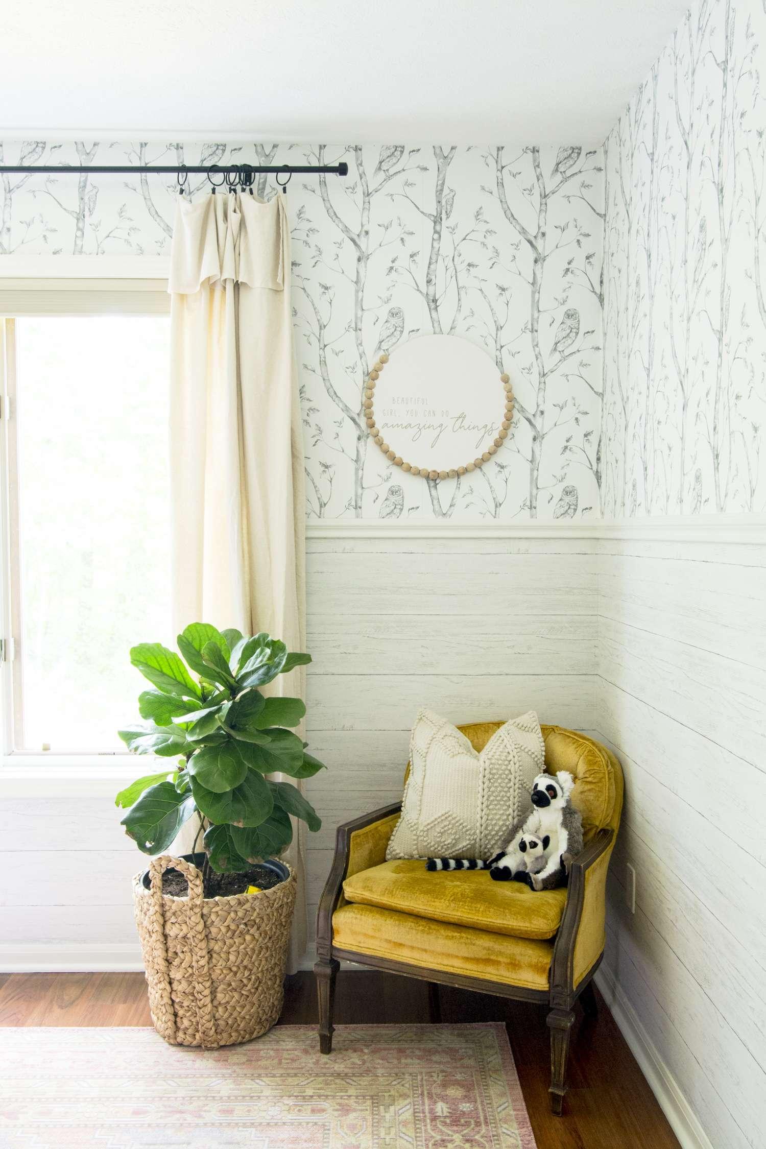 girls bedroom wallpaper