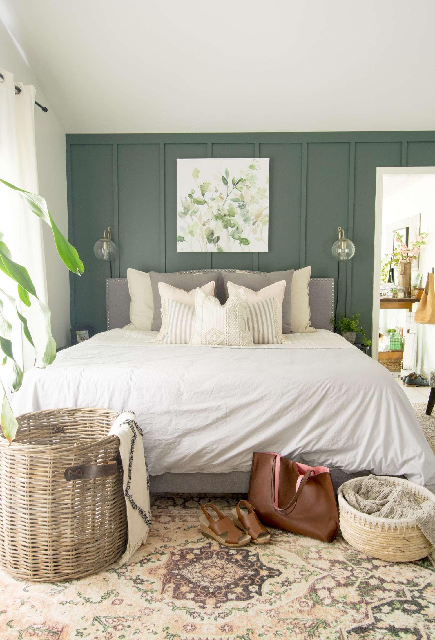 How to style modern farmhouse bedding