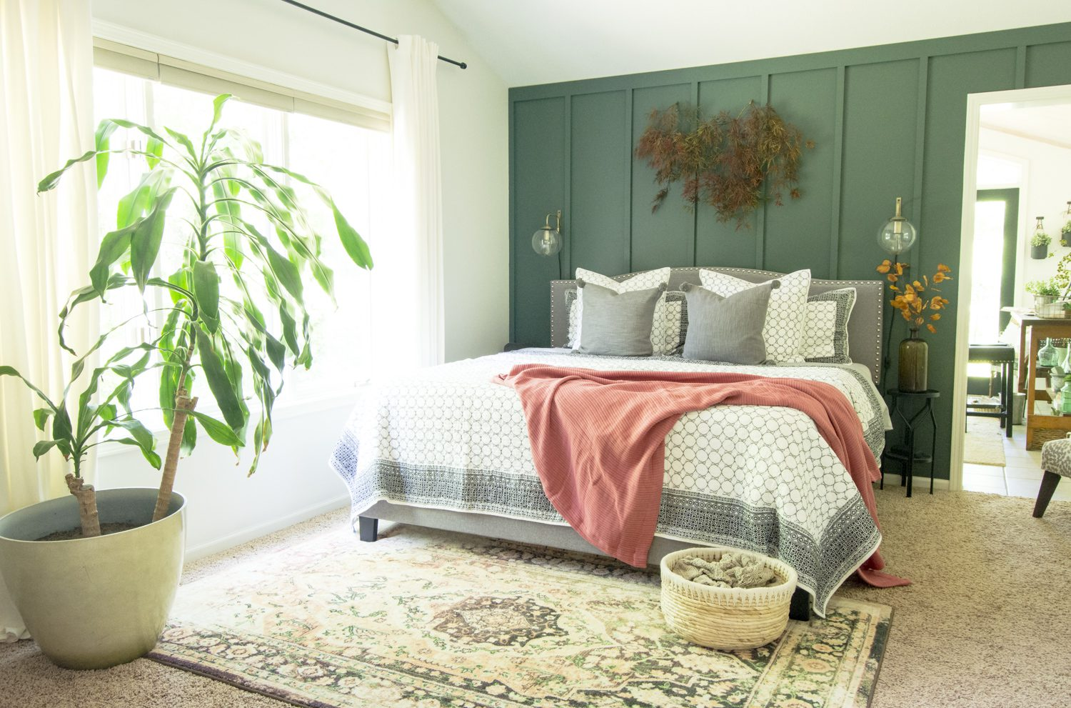 fall bedding decor ideas