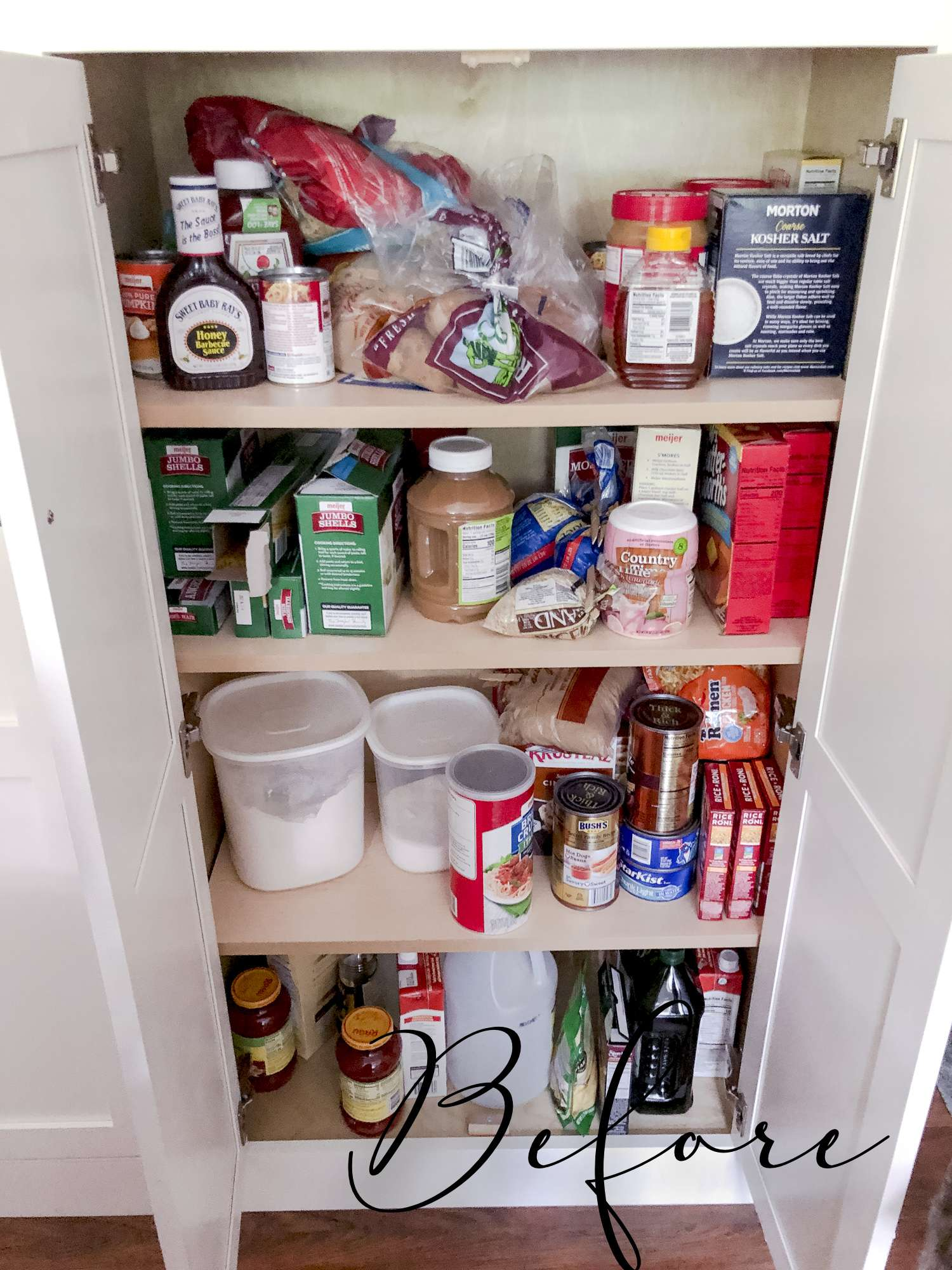 Kitchen Pantry Ideas for Storage and Organization | Grace In ...