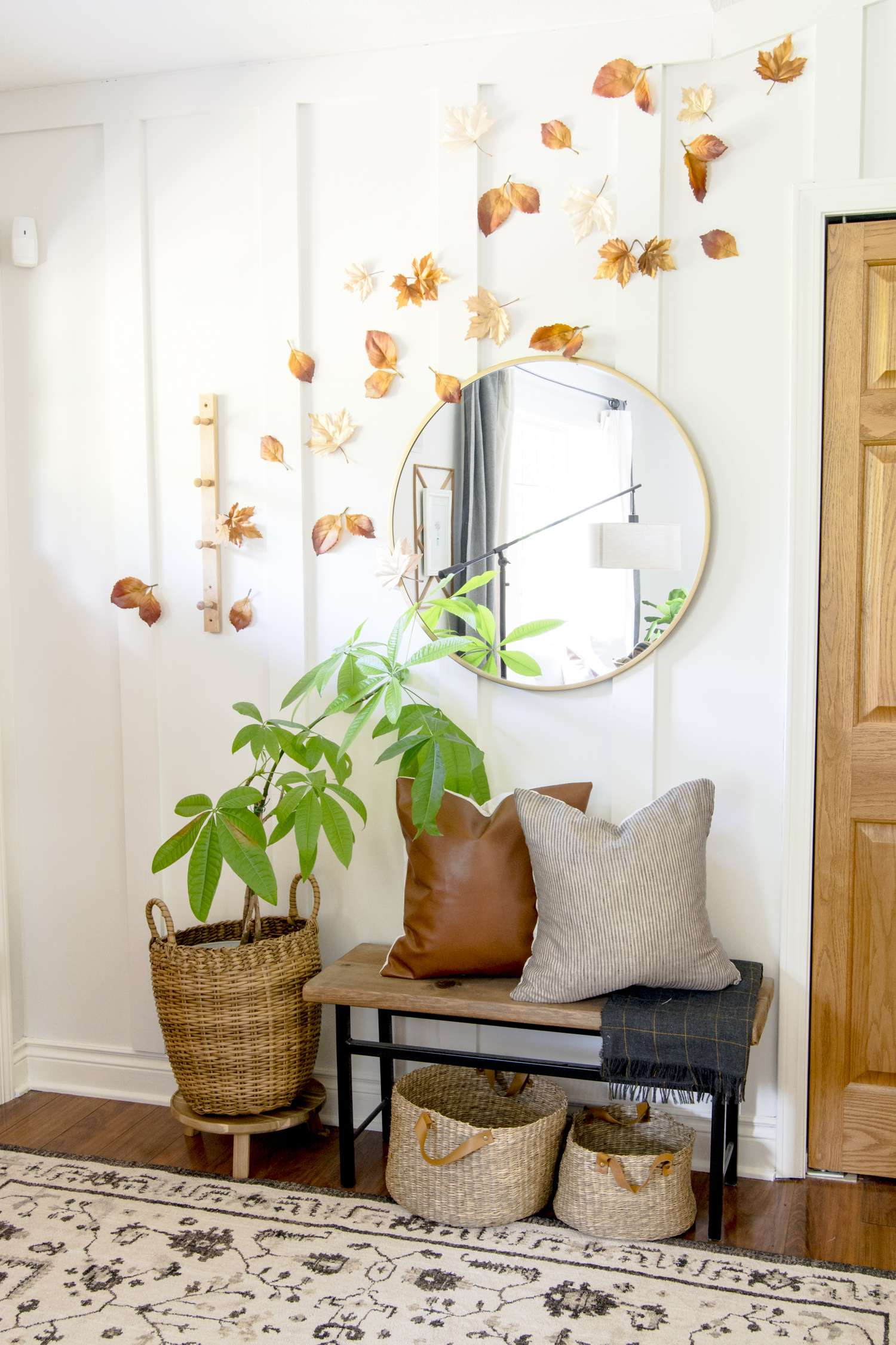 DIY Fall Decorations | Simple Leaf Display | Grace In My Space