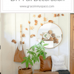 Autumn decor doesn't have to be complicated! You can make a big statement with simple DIY fall decorations that are affordable and easy! #fromhousetohaven #DIYFalldecor #falldecorating #cheapfalldecor