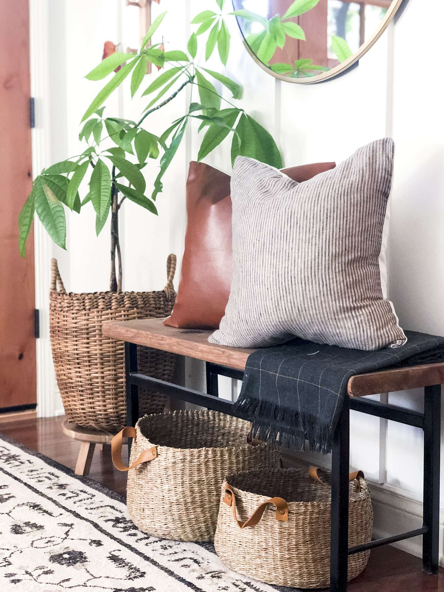 Modern Rustic Fall throw pillows