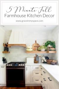 Farmhouse Kitchen Decor Ideas for Fall