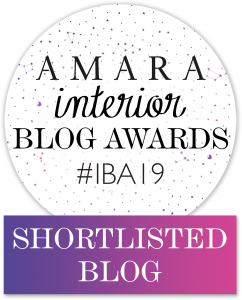 Amara Interior Blog awards shortlisted blogger