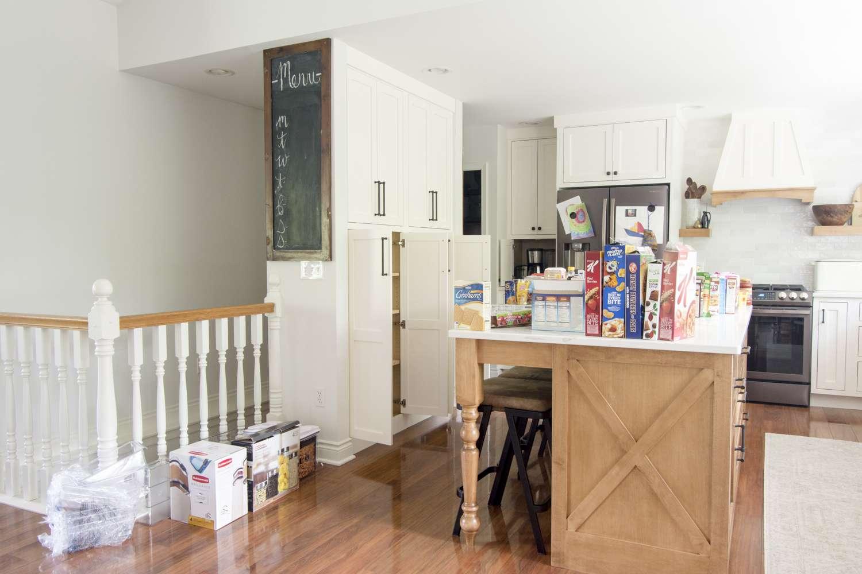 Disorganized kitchen