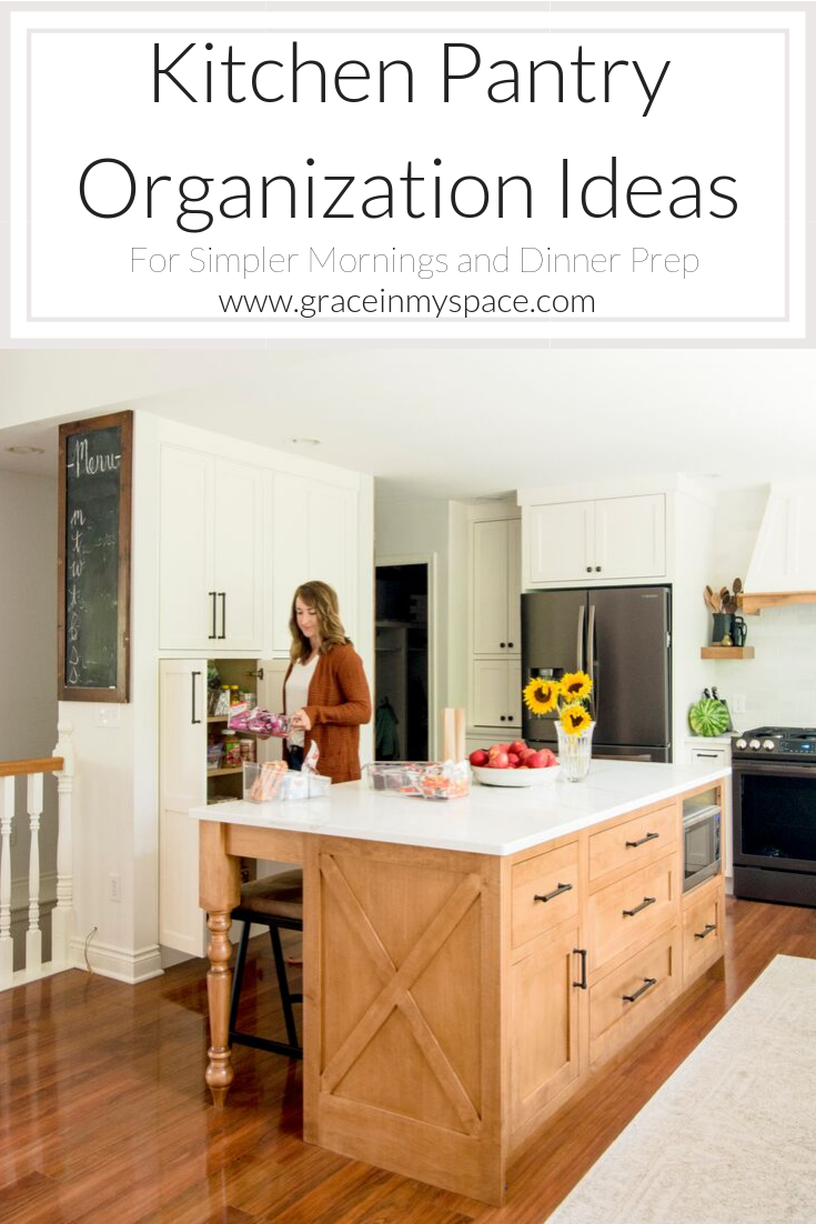 Are you looking for kitchen organization ideas? Here are simple kitchen pantry ideas perfect for easy storage and pantry organization solutions.