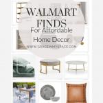 Modern Walmart Home Decor