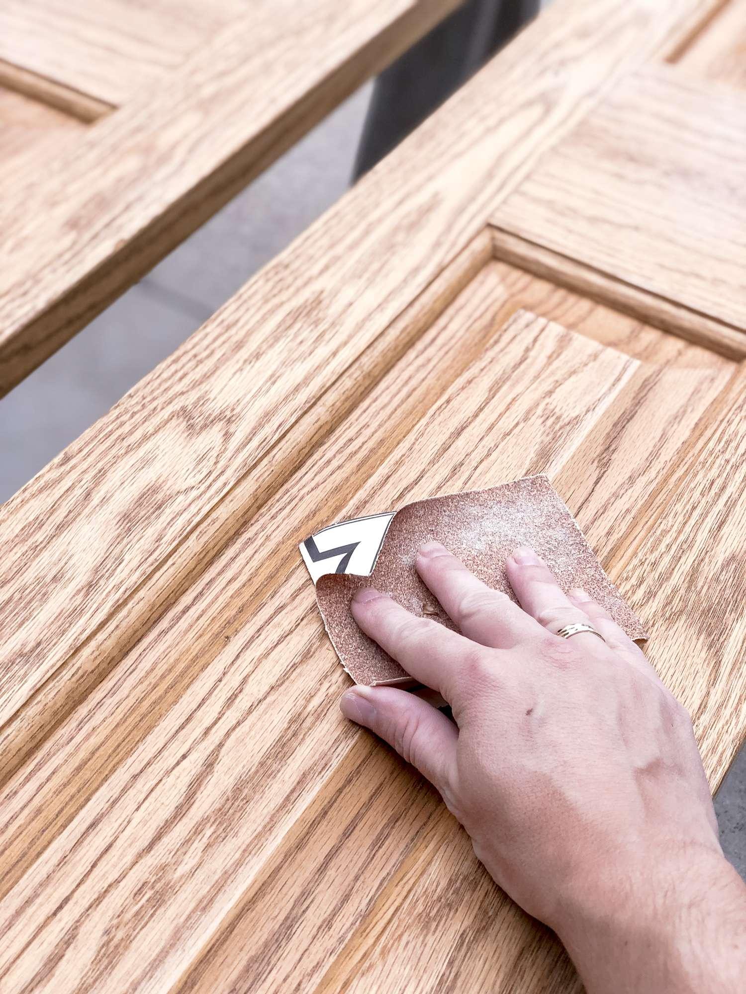Sanding Interior Doors