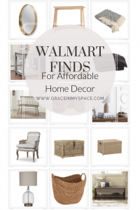 Walmart online shopping has never been better for the home and decor enthusiast! I've rounded up my favorite affordable Walmart finds to style your home.