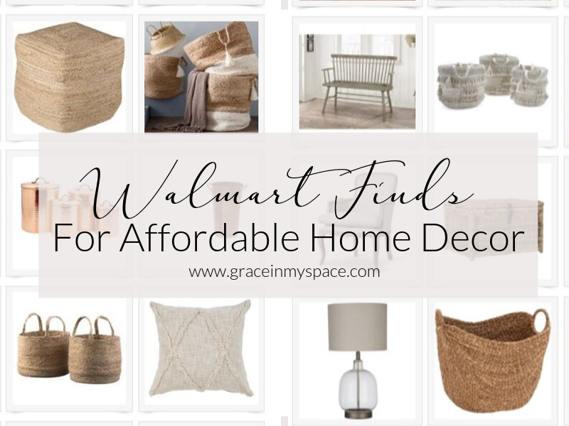 Walmart Finds for Affordable Home Decor