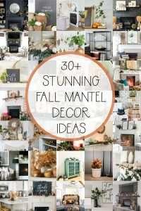 30 Fall Mantel Decor Ideas