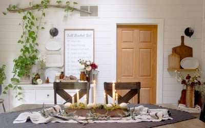 Do you want to refine your rustic dining room this fall? Here are easy ways to elevate your rustic style for a cozy dining room decorated for fall.
