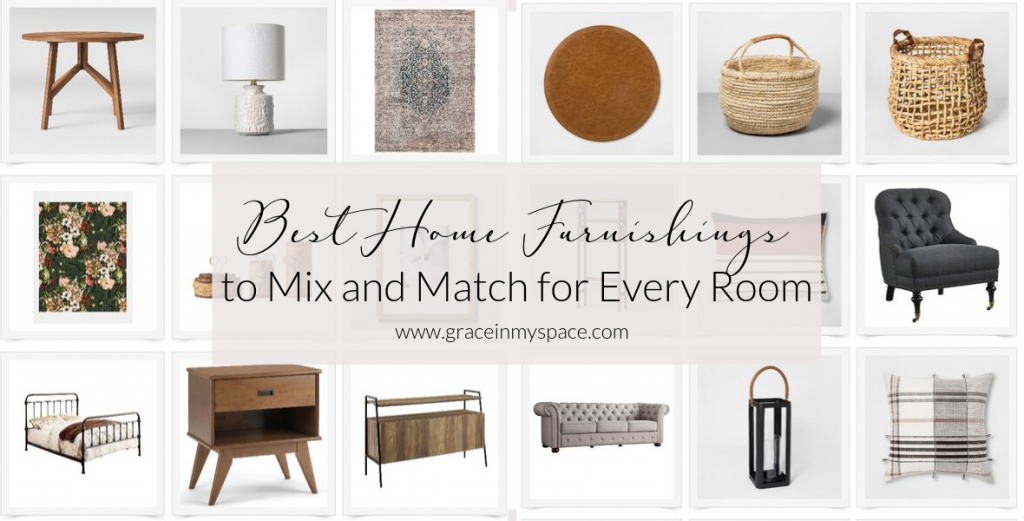 Have you struggled to define your design style? You don't have to! Create your own style with these simple mix and match home furnishings for every room.