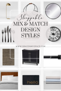 Shoppable Mix and Match Design Styles