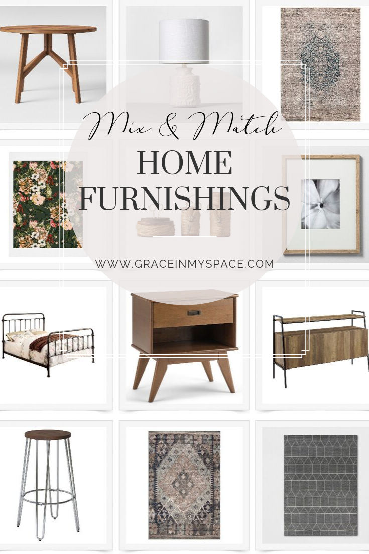 Mix and Match Home Furnishings