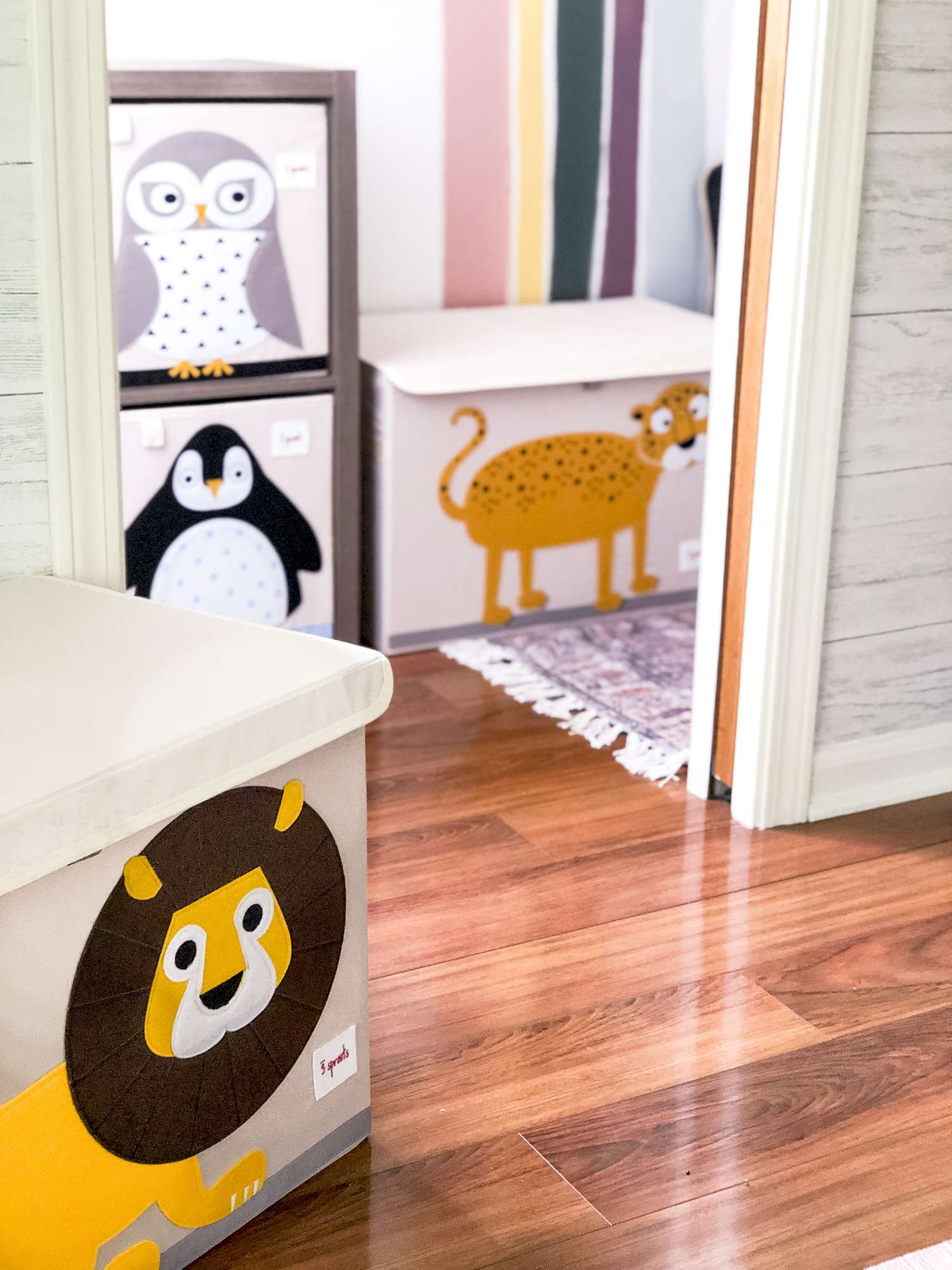 Playroom ideas and storage solutions.