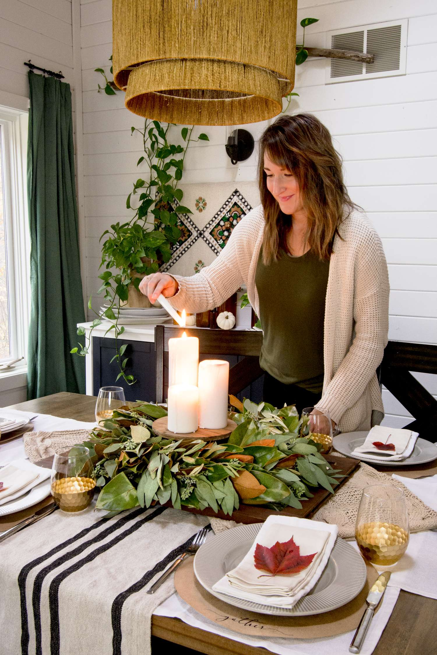 Three Easy Thanksgiving Centerpiece Ideas Grace In My Space