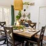 Fall dining room decor ideas.