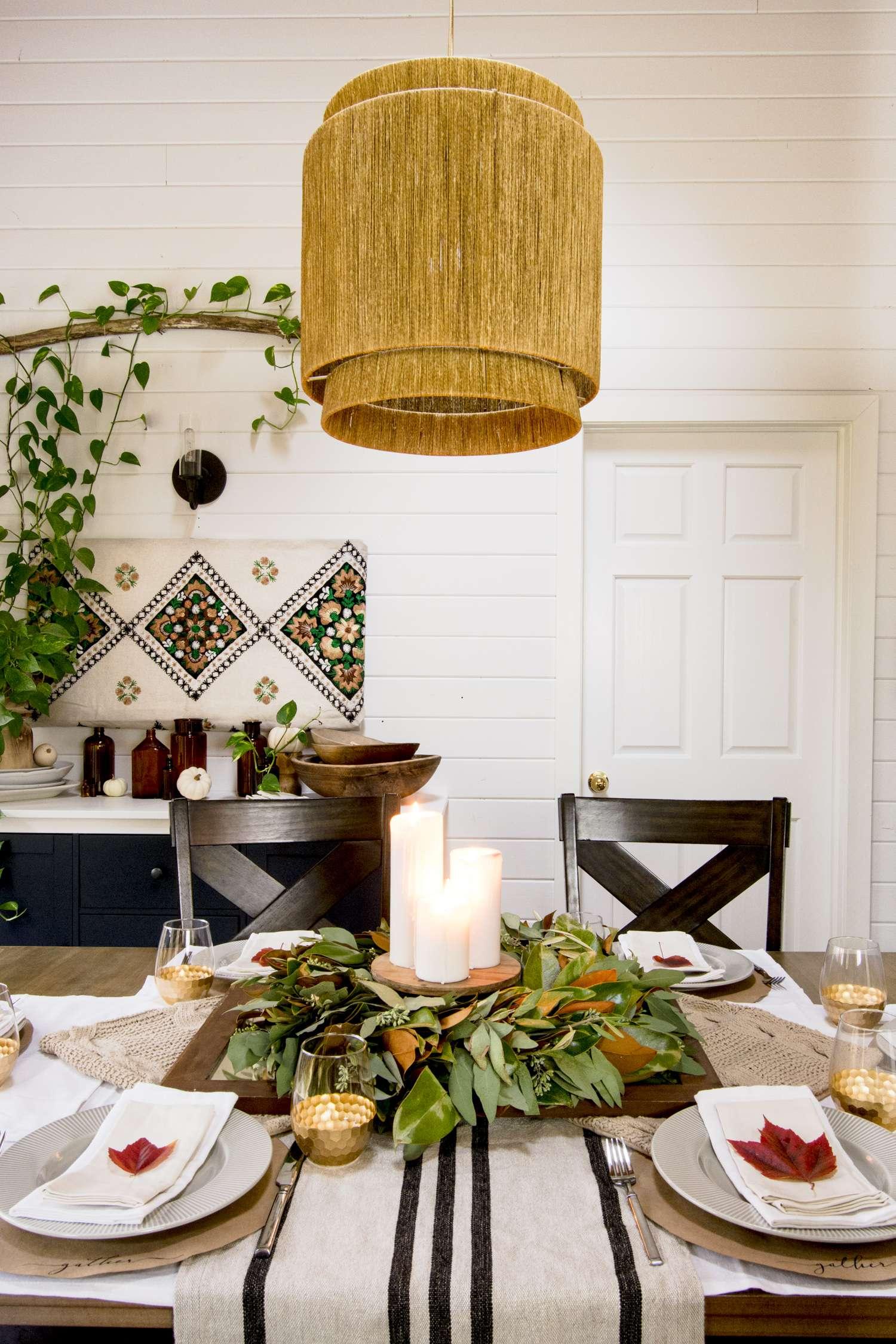 Thanksgiving table decor ideas.
