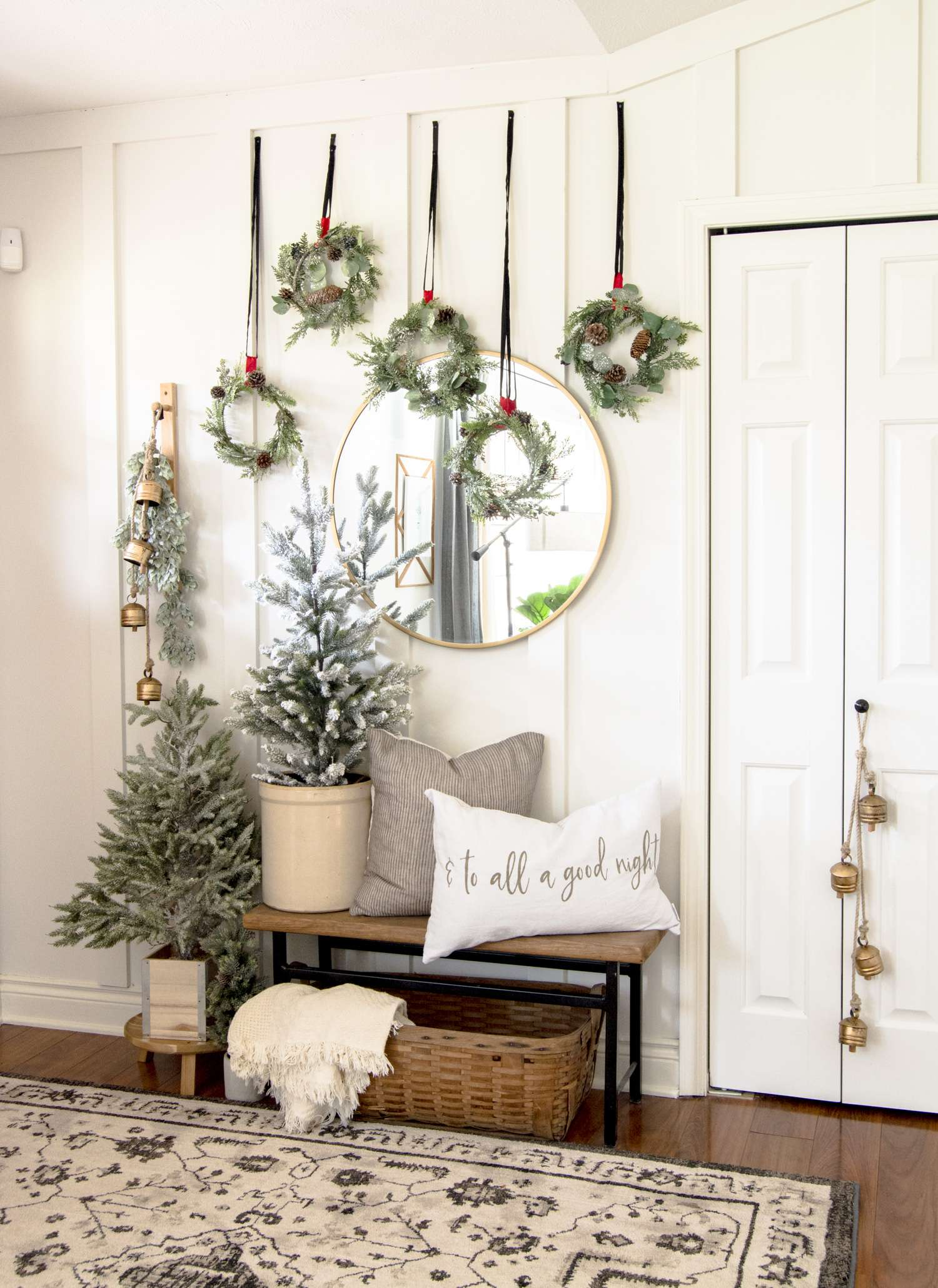 Modern Farmhouse Christmas Decorations Tour Grace In My Space