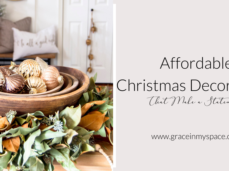 Cheap Christmas Decorations That Make a Statement