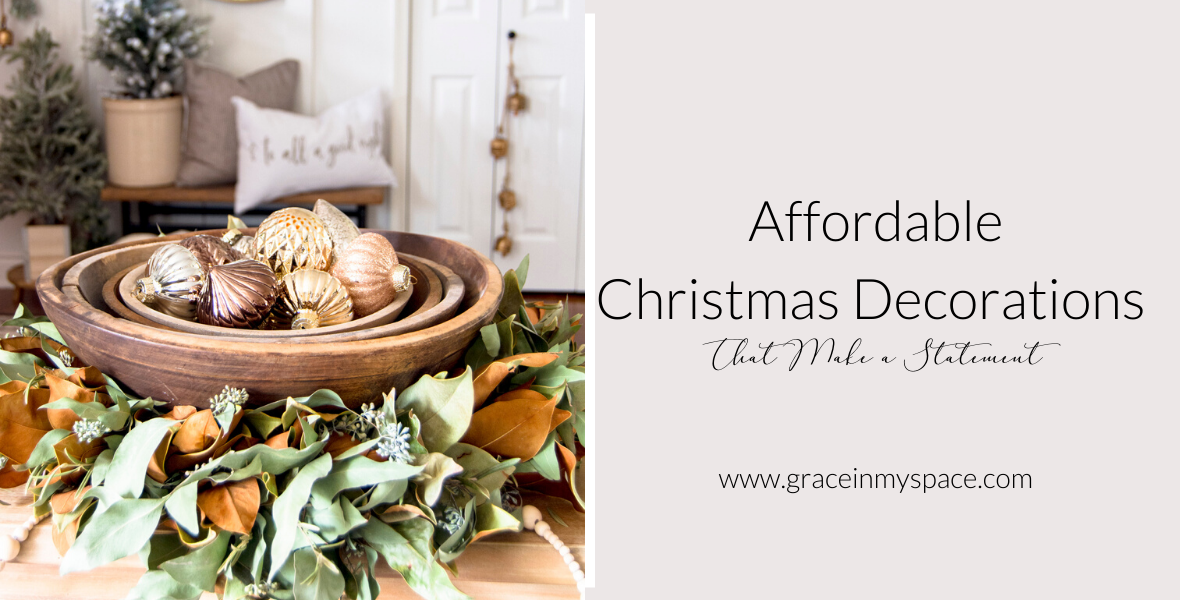 I'm excited to share my modern farmhouse Christmas decorations tour with you! Learn how to incorporate modern farmhouse style into your Christmas decor.