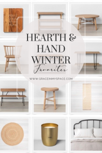 Shop my top picks from the new Hearth and Hand Winter Line! This line has been one of my favorites from the start and these new arrivals don't disappoint.