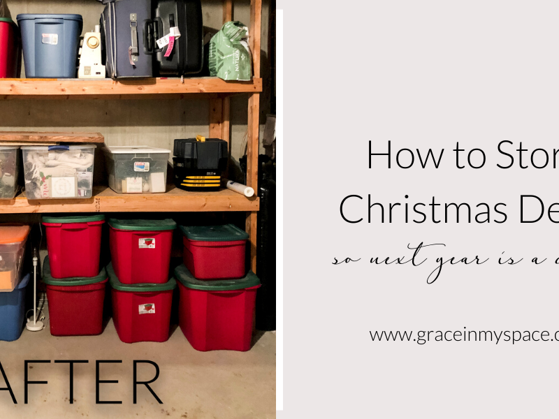 7 Tips for Organized Christmas Decoration Storage