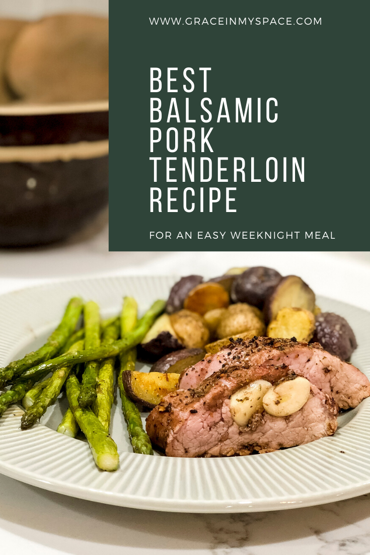 The best pork tenderloin recipe is one that is simple, quick, flavorful and tender! Learn how to get this easy weeknight meal on the table in 40 minutes.