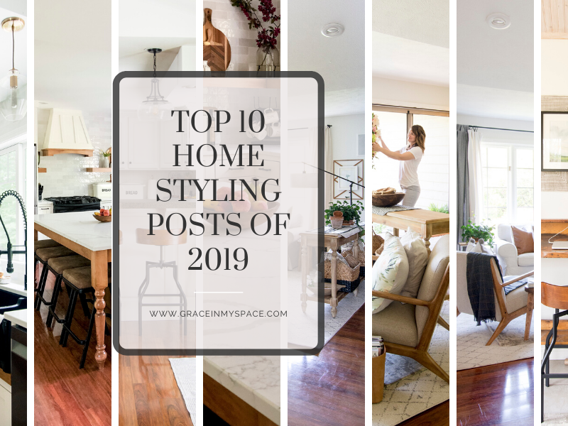 Top 10 Home Styling Posts of 2019