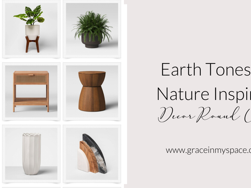 Earth Tones & Nature Inspired Home Decor