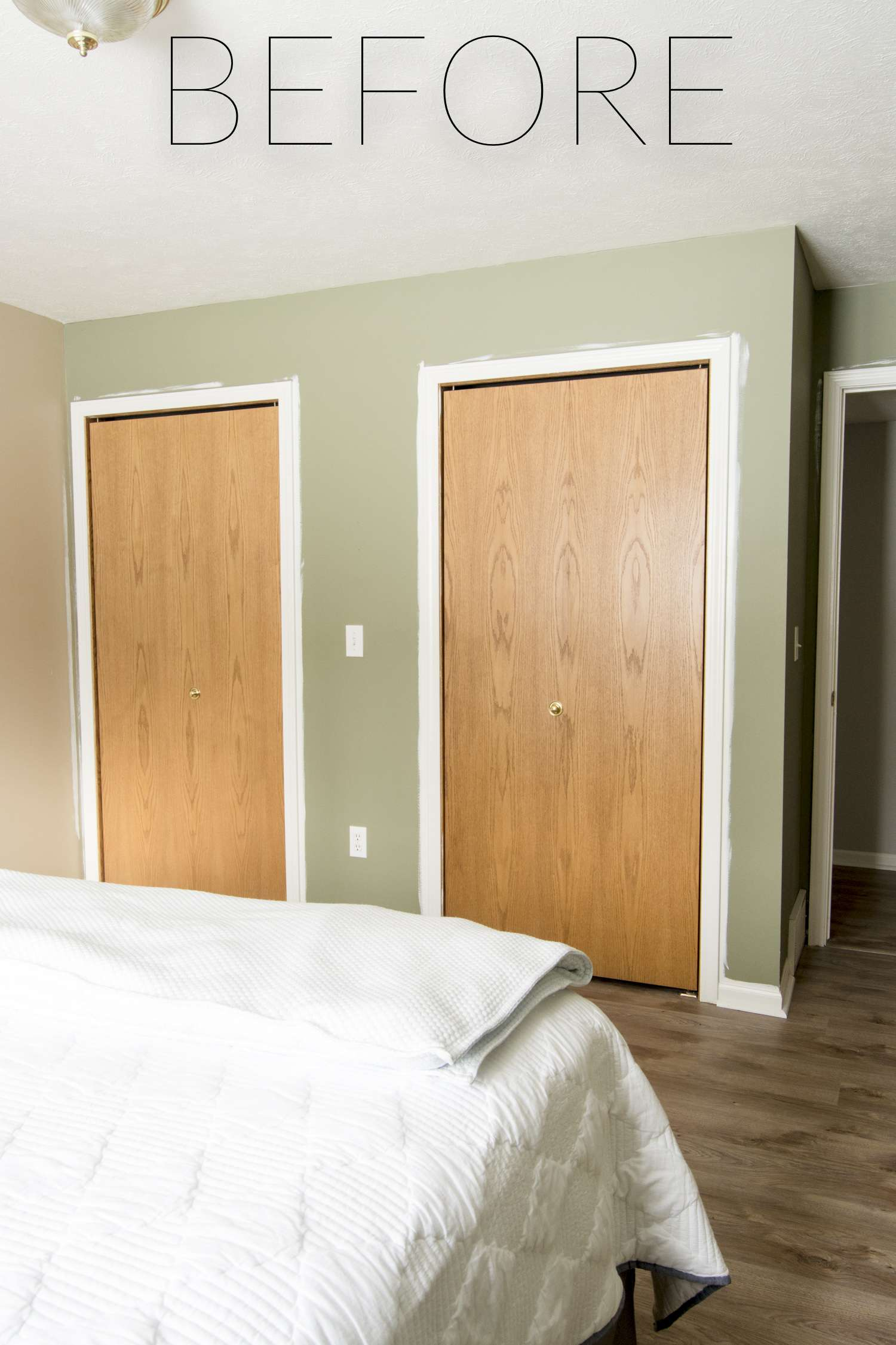 How to Make Custom Bifold Closet Doors  Grace In My Space