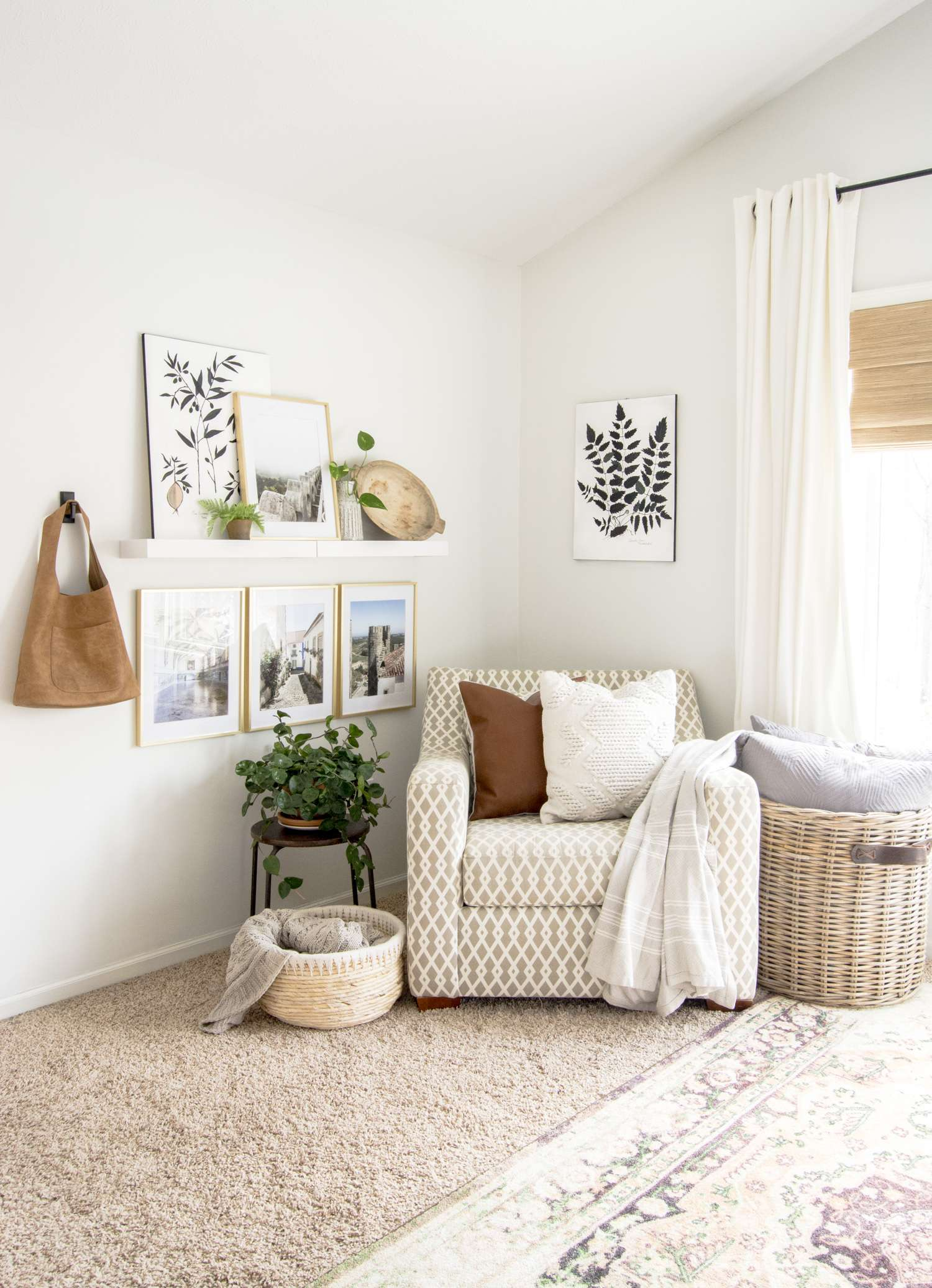 Master bedroom cozy corner.