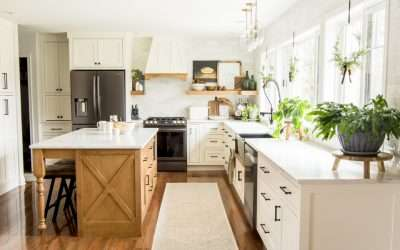 Learn how to create a beautiful and functional kitchen design with this simple kitchen planner. The heart of the home can be both pretty and practical!