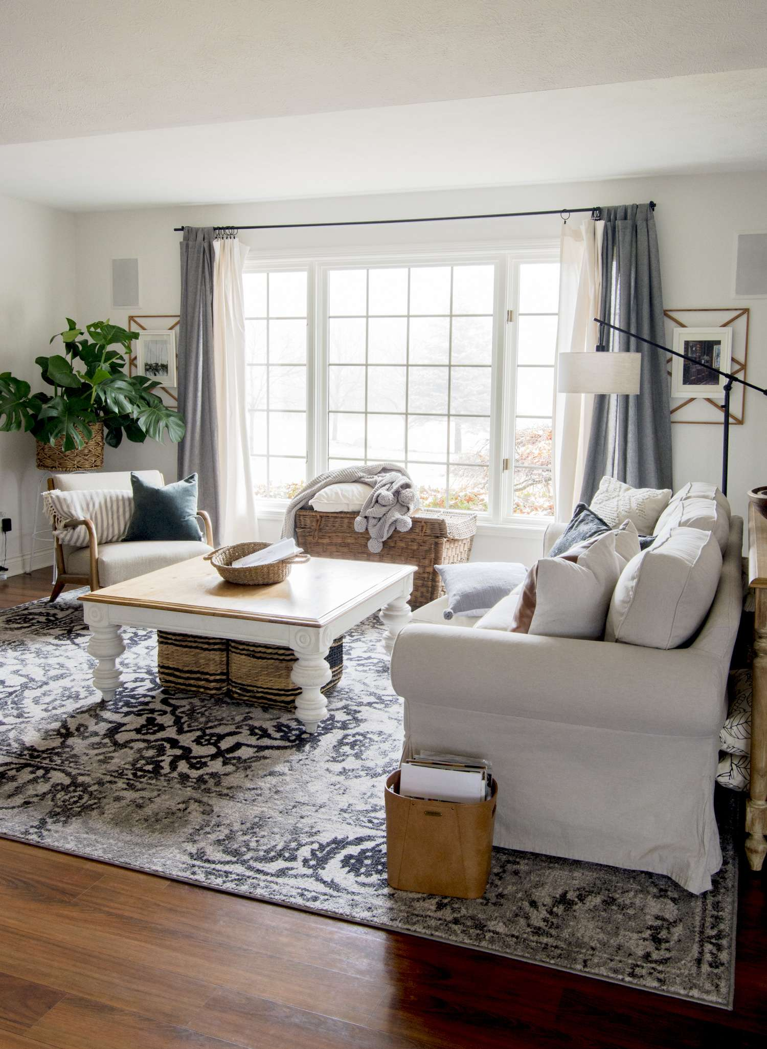 Cozy rug for a hygge home.