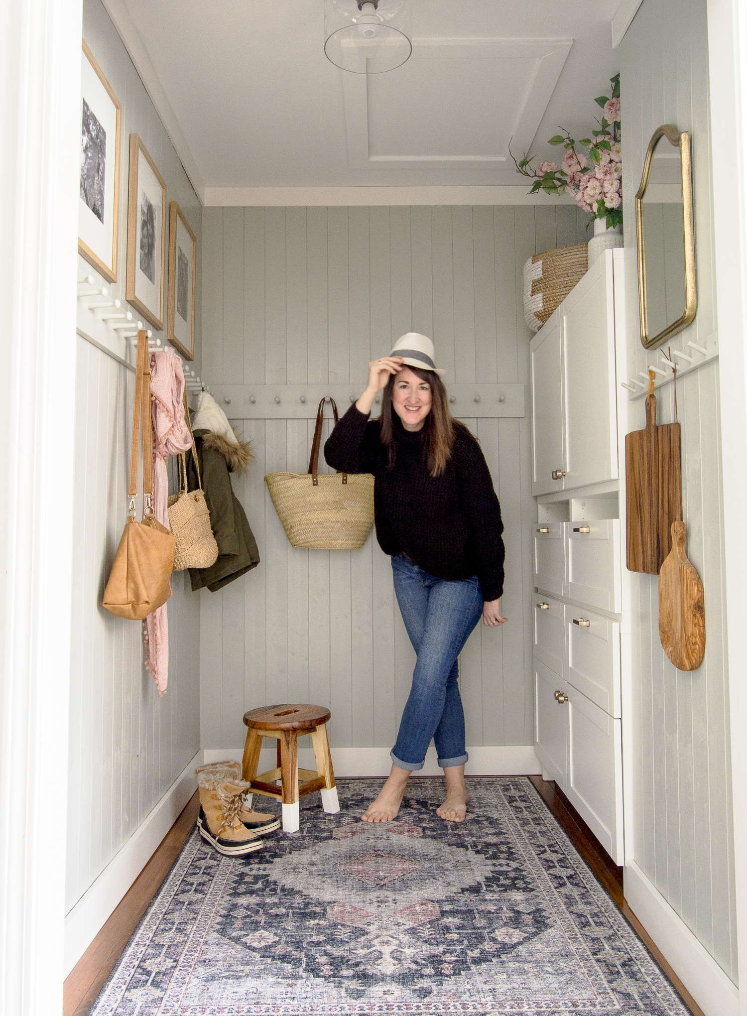 Small Mudroom Ideas A Diy Mudroom Makeover Grace In My Space