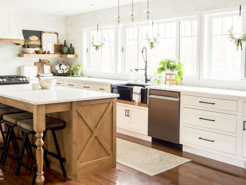 Modern Farmhouse Kitchen Remodel FAQs