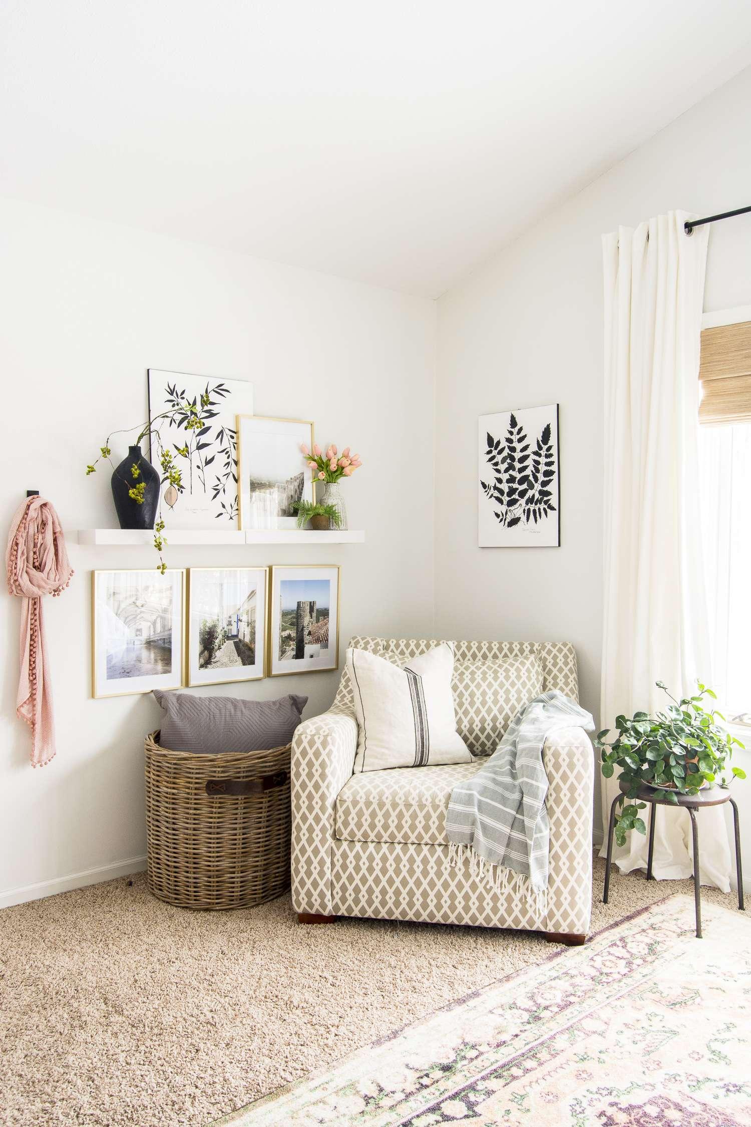 Master Bedroom gallery wall.