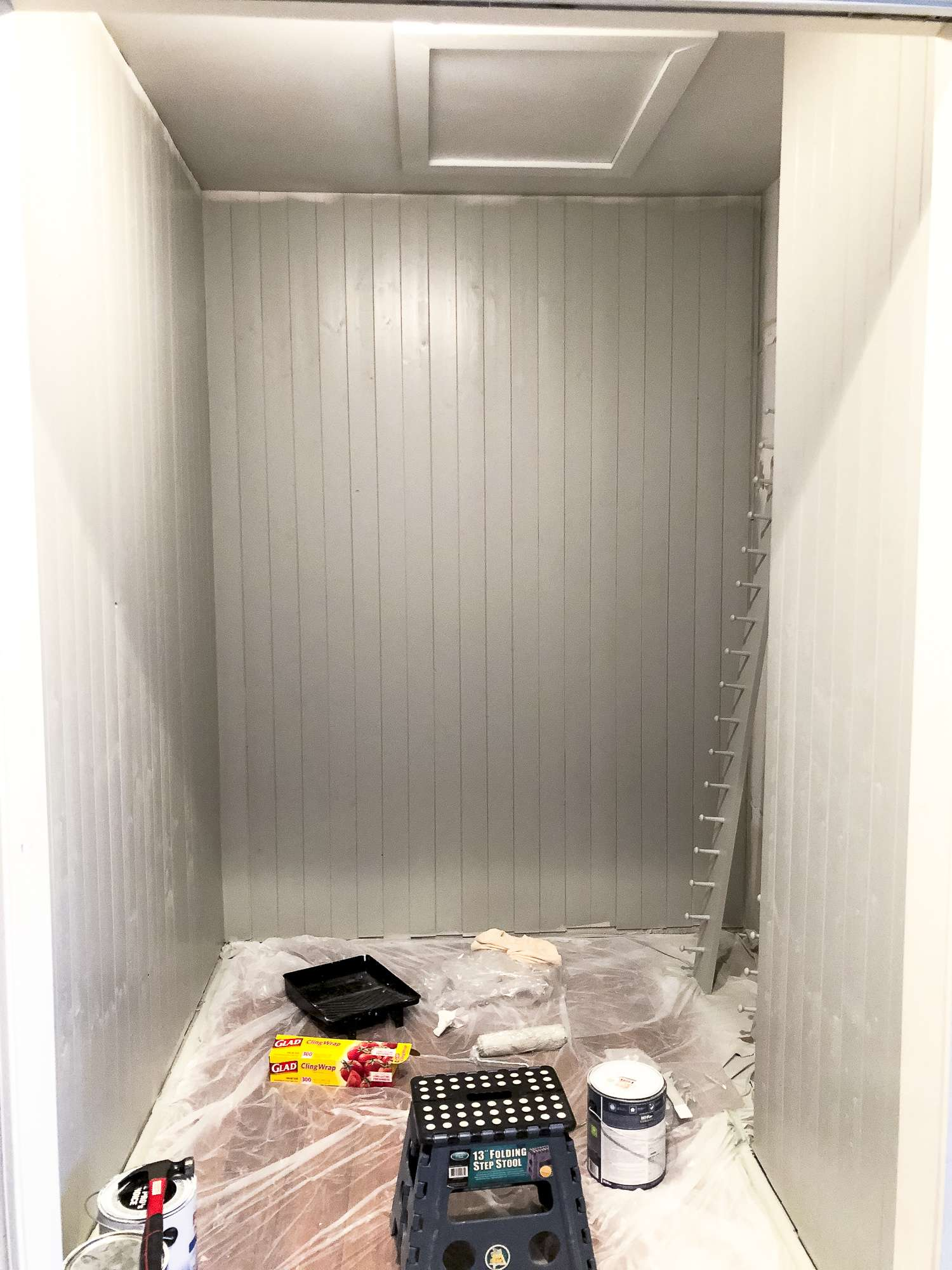 DIY Mudroom Makeover
