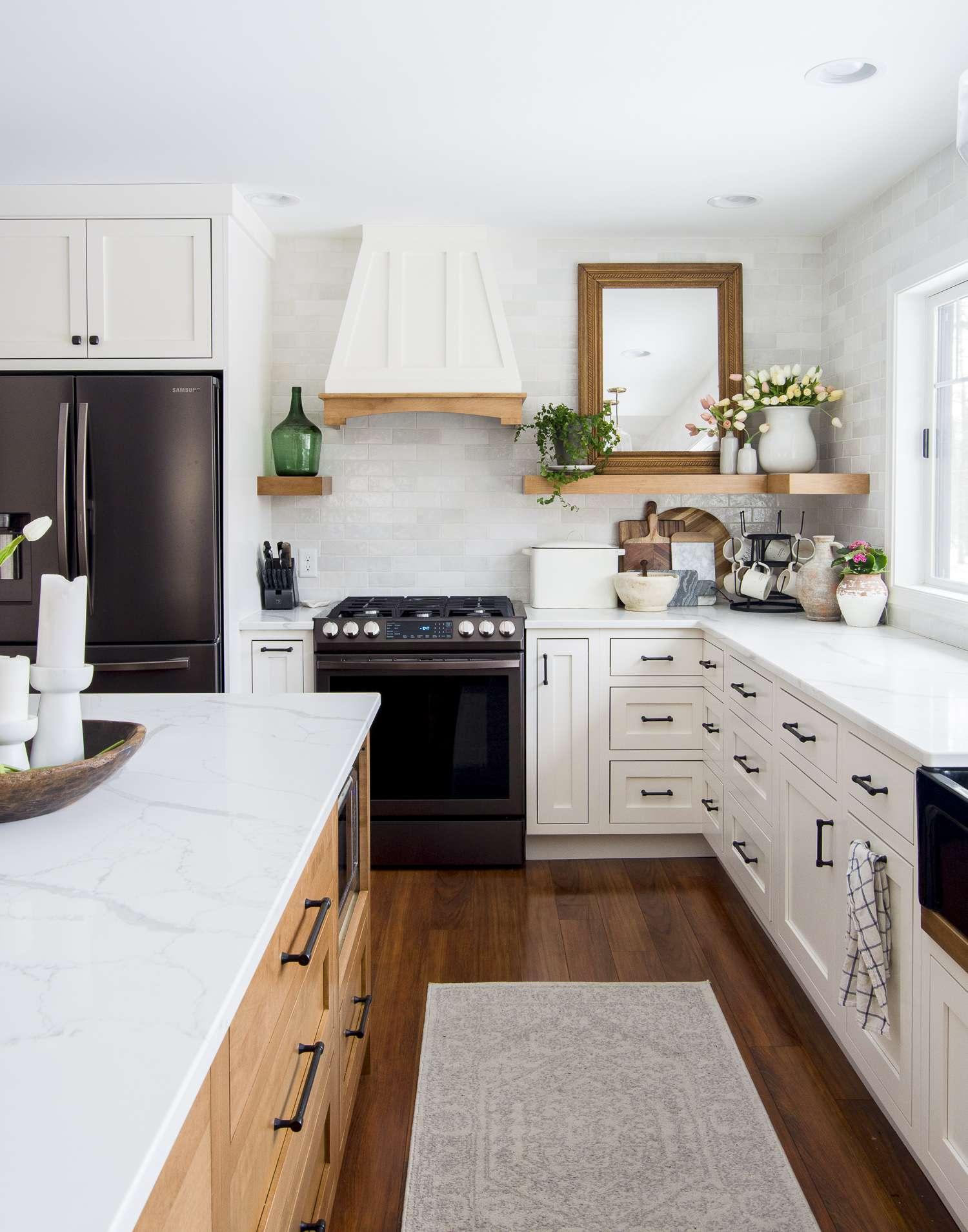 Kitchen decor ideas for spring.