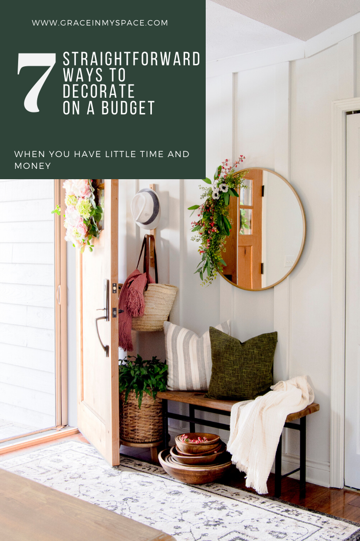 7 Straightforward Ways to Decorate on a Budget