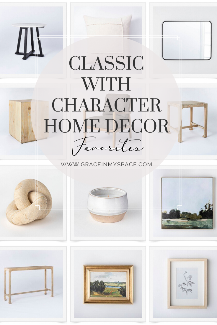 Timeless and classic home design is my favorite interior design style. I rounded up my favorite home decor staples from the new Studio McGee line at Target.
